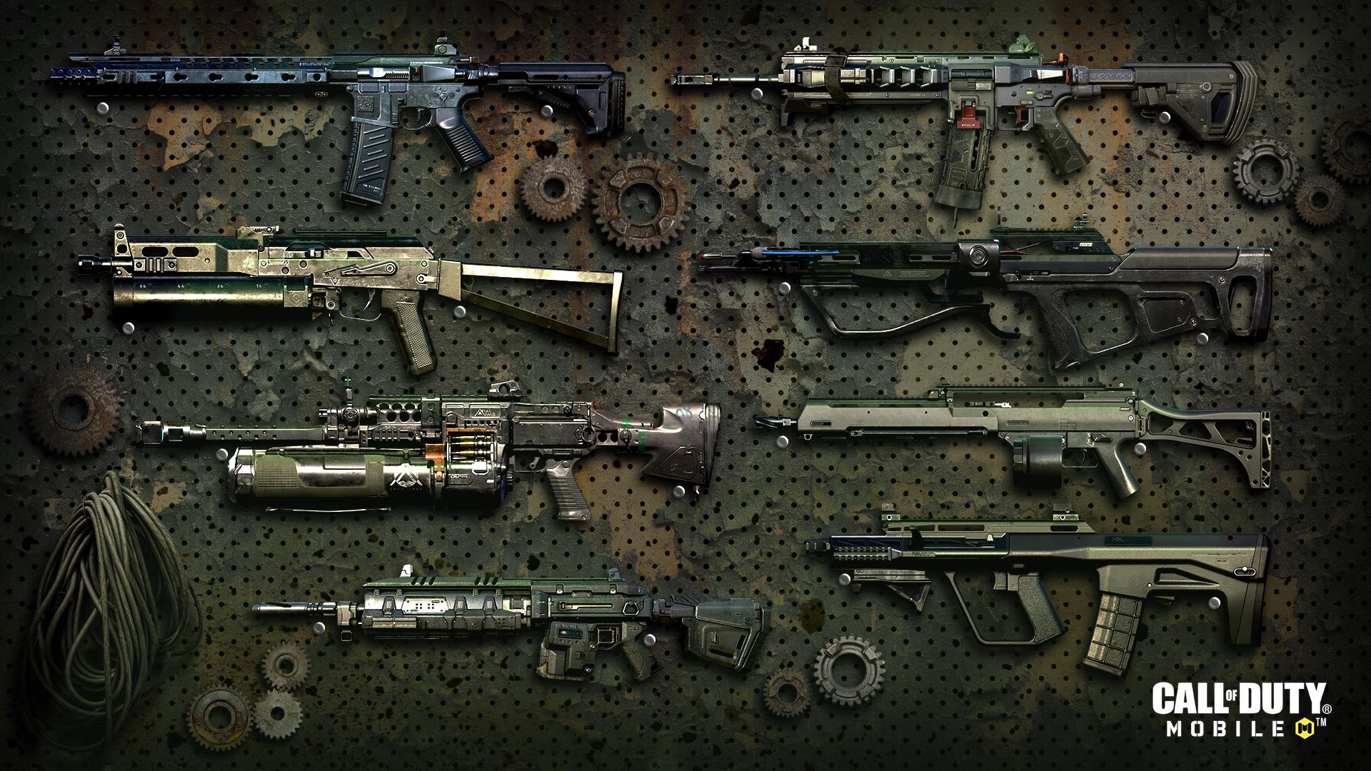 CoD Mobile Season 7 Battle Pass weapons