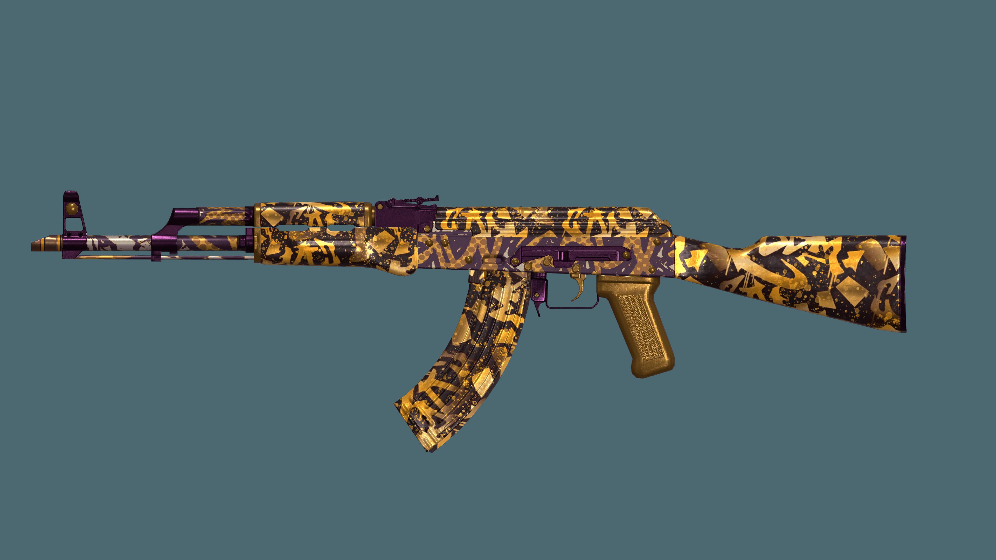 AK 47 Air Brush
