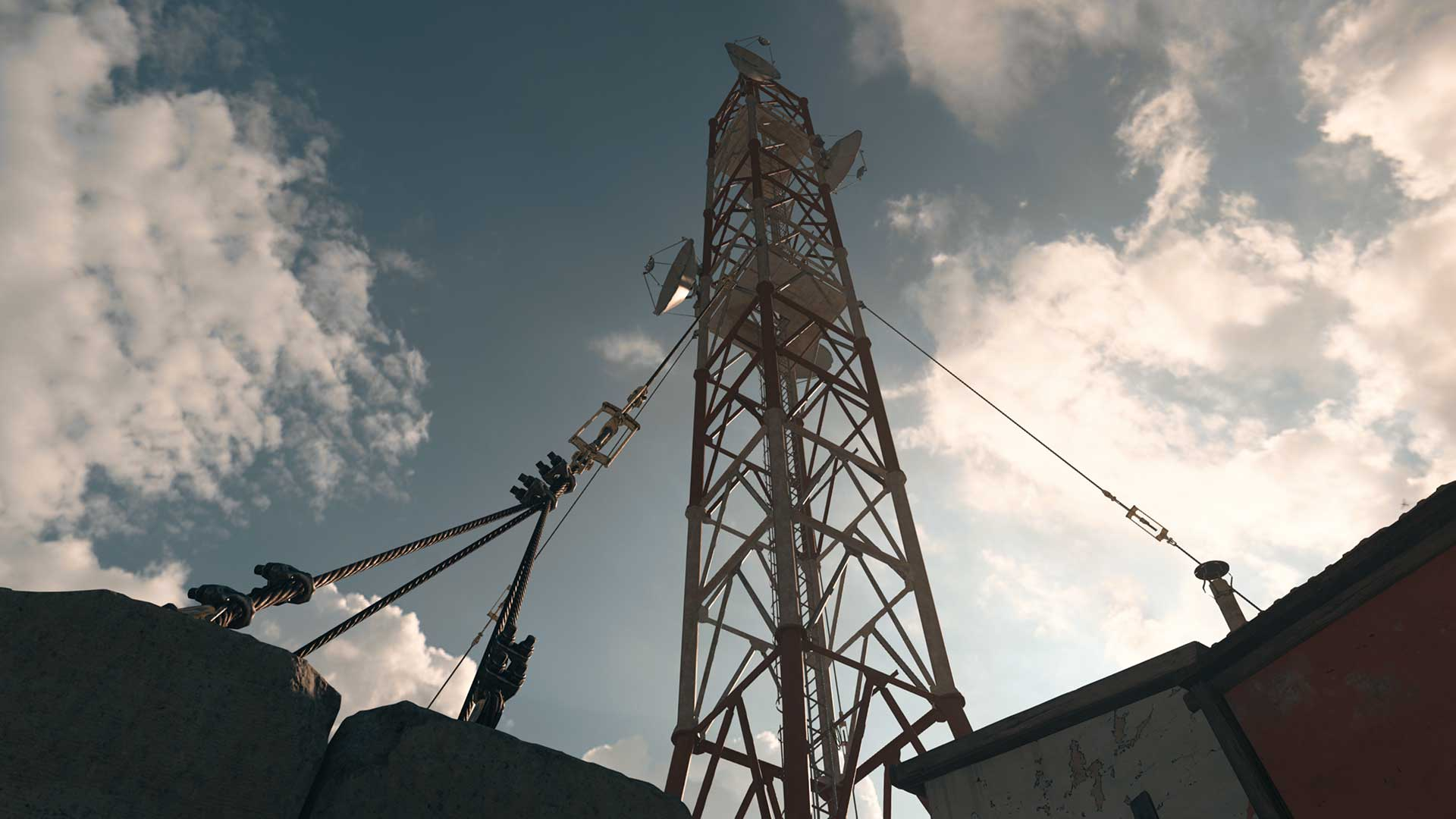 Towering Over the Junkyard